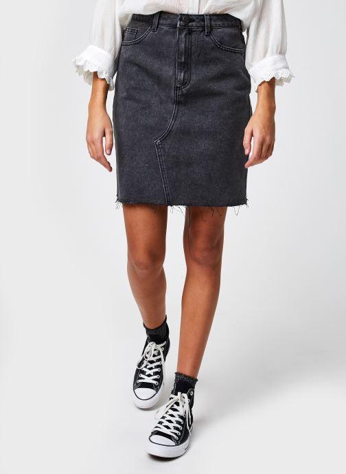 Vêtements Vila Vicaniana Denim Skirt Gris vue détail/paire