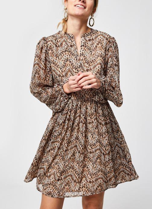 Vêtements Vila Visunara Sleeve Dress Beige vue détail/paire