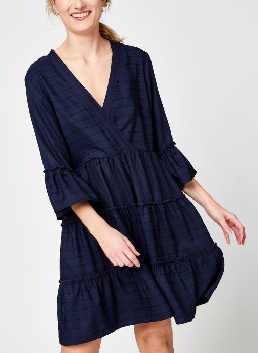 Kleding Vila Vietna 3/4 Dress Blauw detail