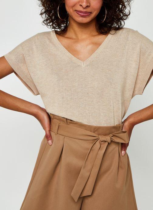 Vêtements Vila Vilesly Top Beige vue détail/paire