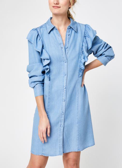 Vêtements Vila Violesia Bleu vue détail/paire