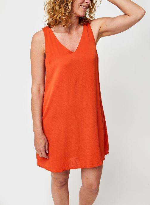 Vêtements Vila Vijahula Dress Orange vue détail/paire