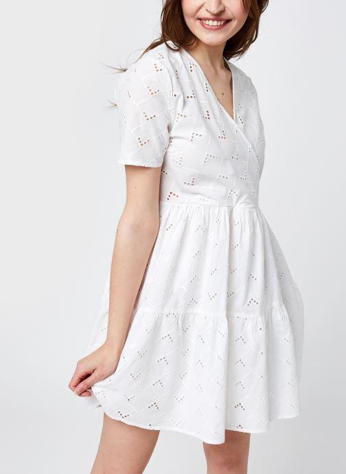 Vêtements Vila Visilje Dress Blanc vue détail/paire