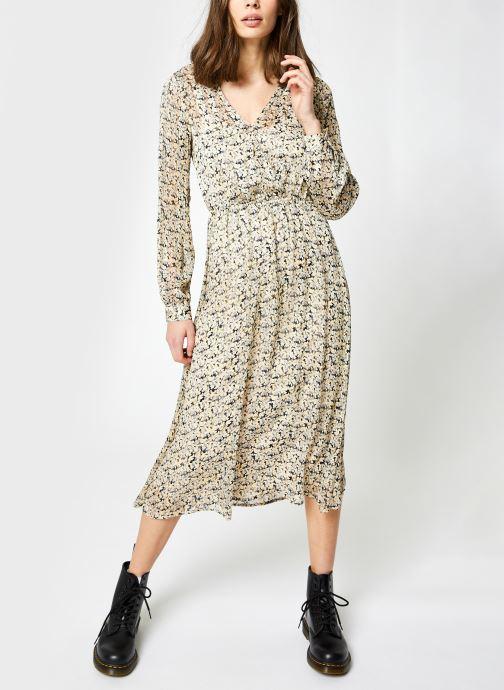 Vêtements Vila Vinaira Midi Dress Beige vue détail/paire