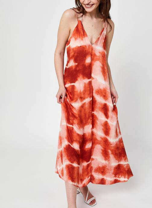 Vêtements Vila Vicorba Ankle Dress Orange vue détail/paire