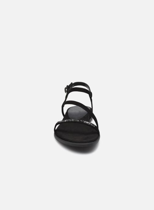 Sandalen Unisa CLARIS-KS schwarz schuhe getragen