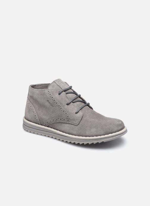 Stiefeletten & Boots Geox J Wong grau detaillierte ansicht/modell