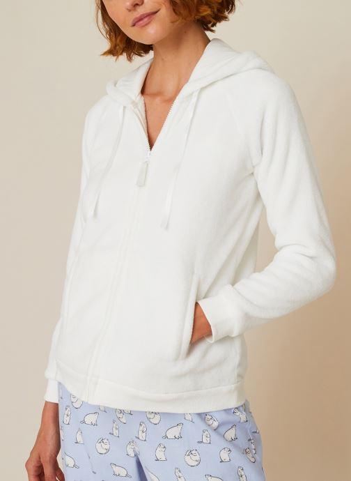 Vêtements Accessoires Veste doudou zippée