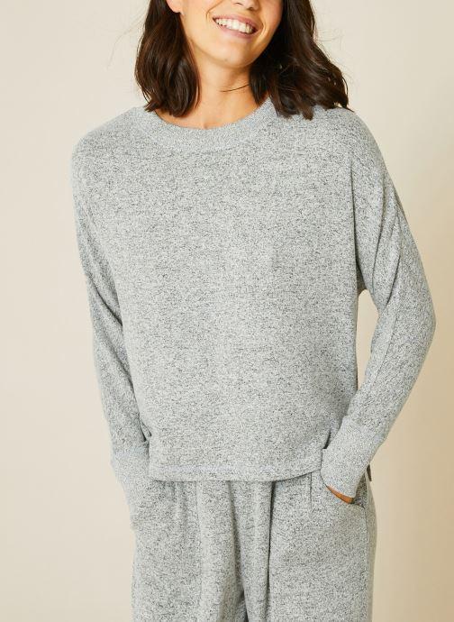Kleding Monoprix Femme Sweat ample doudou Grijs detail
