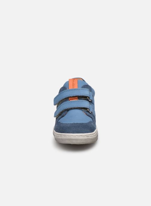 Sneaker Froddo G2130230 blau schuhe getragen