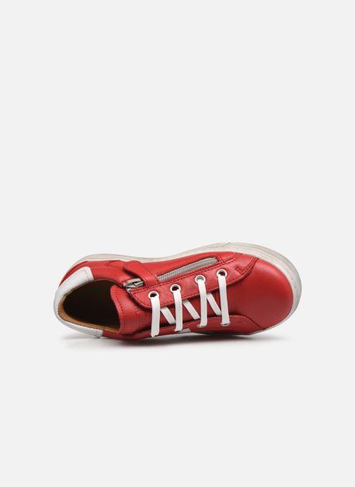 Sneaker Froddo G3130162 rot ansicht von links