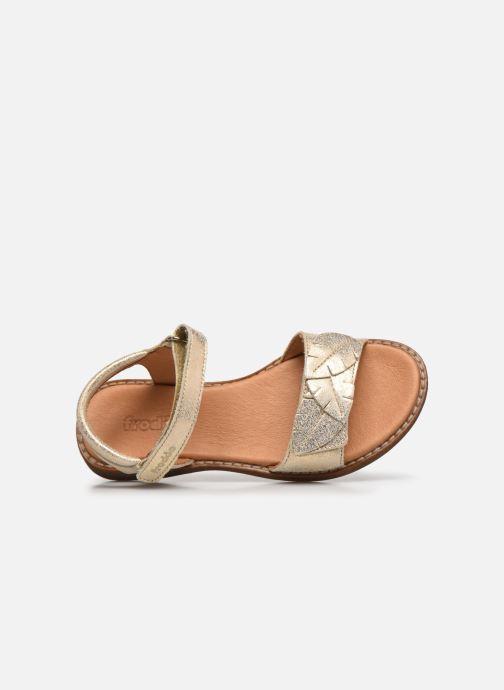 Sandalias Froddo G3150180 Oro y bronce vista lateral izquierda