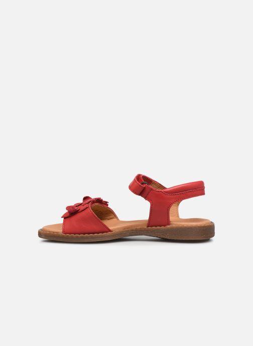 Sandalen Froddo G3150181 rot ansicht von vorne