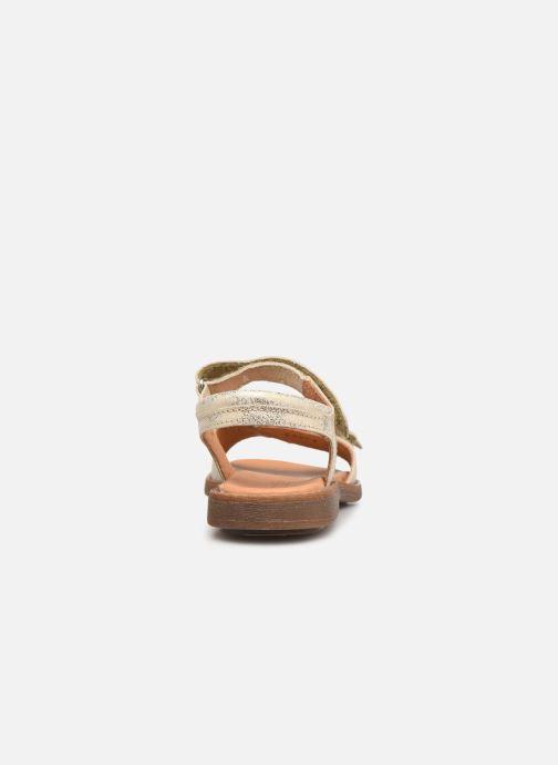 Sandali e scarpe aperte Froddo G3150181 Oro e bronzo immagine destra