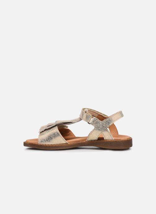 Sandalen Froddo G3150182 gold/bronze ansicht von vorne