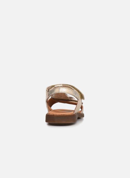 Sandalias Froddo G3150182 Oro y bronce vista lateral derecha