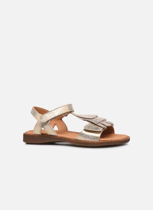 Sandalen Froddo G3150182 gold/bronze ansicht von hinten