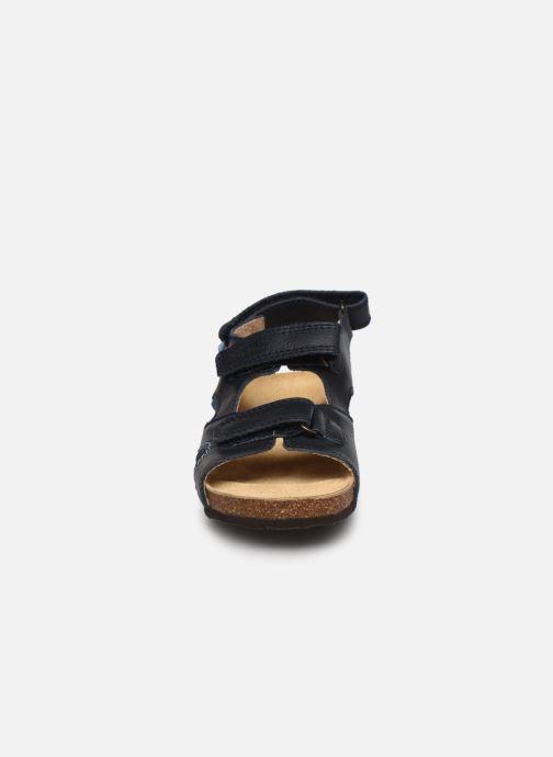 Sandalen Froddo G3150187 blau schuhe getragen