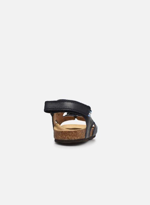 Sandalen Froddo G3150187 blau ansicht von rechts