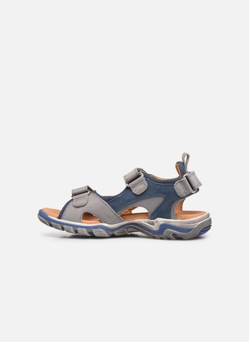 Sandalen Froddo G3150189 grau ansicht von vorne