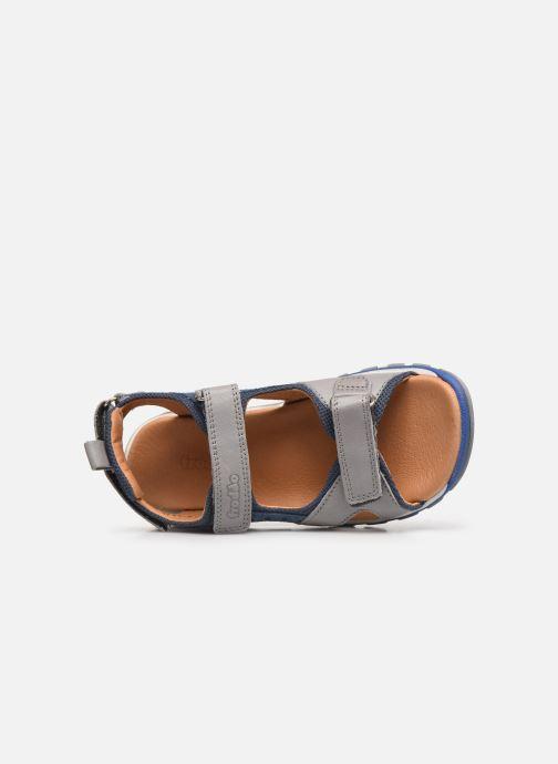 Sandalen Froddo G3150189 grau ansicht von links