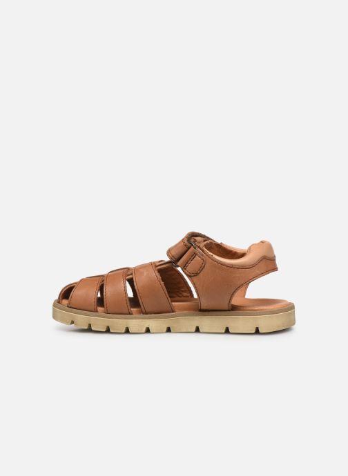 Sandalen Froddo G3150190 braun ansicht von vorne