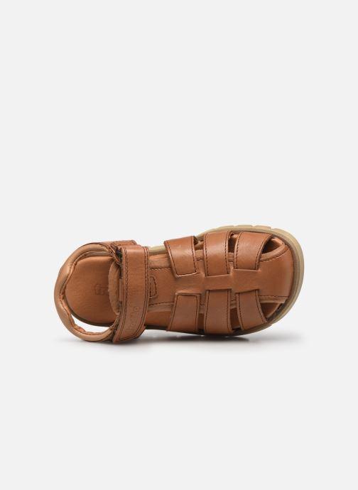 Sandalen Froddo G3150190 braun ansicht von links