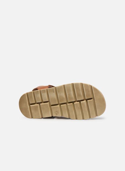 Sandalen Froddo G3150190 braun ansicht von oben