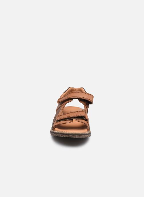 Sandalen Froddo G3150194 braun schuhe getragen
