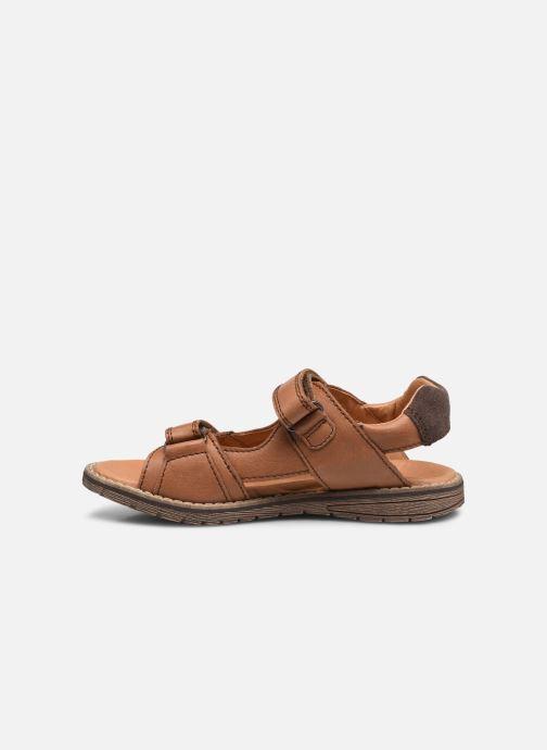 Sandalen Froddo G3150194 braun ansicht von vorne
