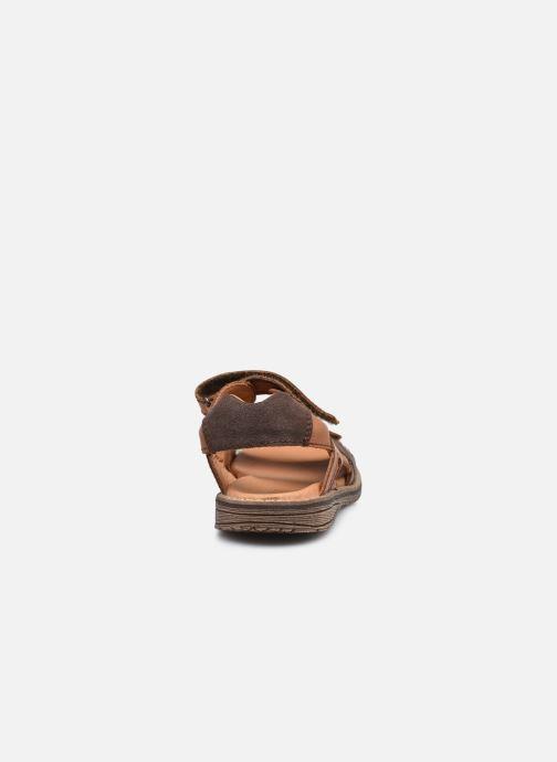 Sandalen Froddo G3150194 braun ansicht von rechts
