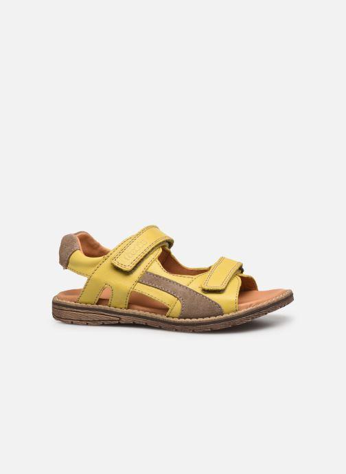 Sandalen Froddo G3150194 gelb ansicht von hinten