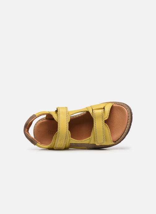 Sandalen Froddo G3150194 gelb ansicht von links