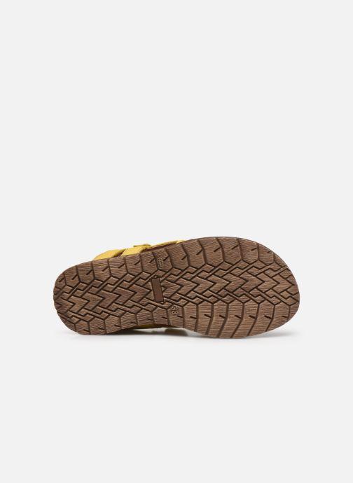 Sandalen Froddo G3150194 gelb ansicht von oben