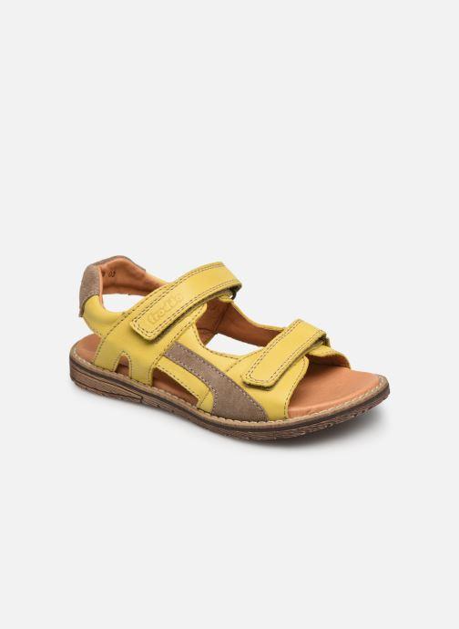 Sandales et nu-pieds Froddo G3150194 Jaune vue détail/paire