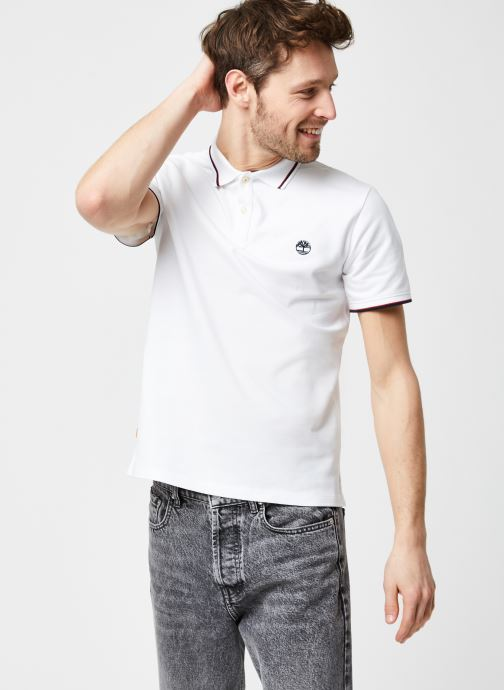 SS Millers River Tipped Pique Polo Slim