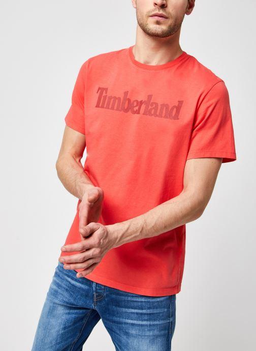 T-shirt - Ss Kennebec River Linear Tee