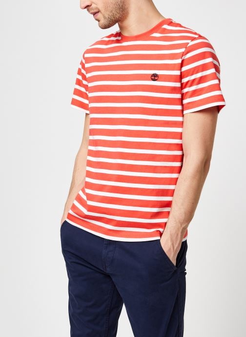 T-shirt - Ss Zealand River YD Stripe Tee