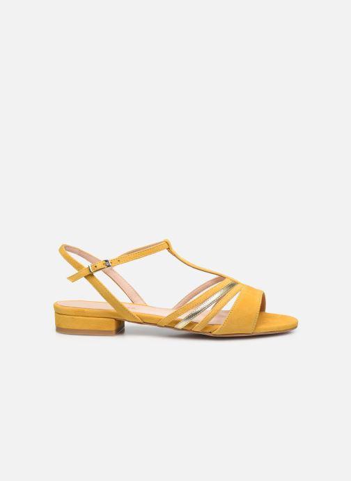 Sandali e scarpe aperte Georgia Rose Aliénor Giallo immagine posteriore