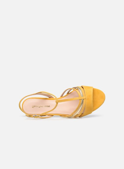 Sandali e scarpe aperte Georgia Rose Aliénor Giallo immagine sinistra