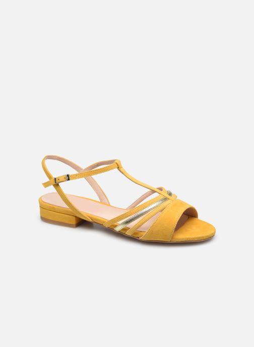 Sandalen Georgia Rose Aliénor gelb detaillierte ansicht/modell