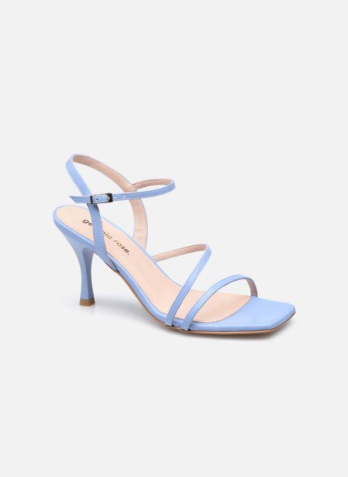 Sandaler Georgia Rose Alyssa Blå detaljeret billede af skoene