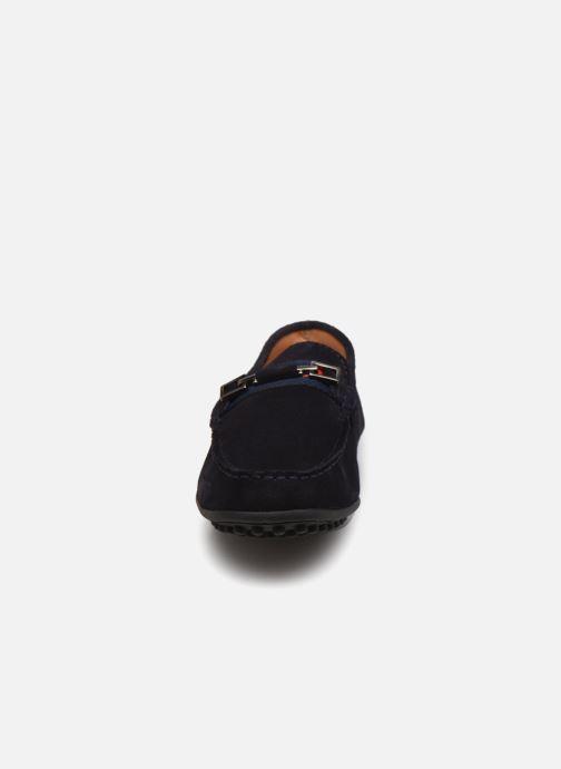 Mocassins Brett & Sons 4388 Bleu vue portées chaussures
