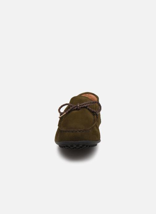 Slipper Brett & Sons 4389 grün schuhe getragen