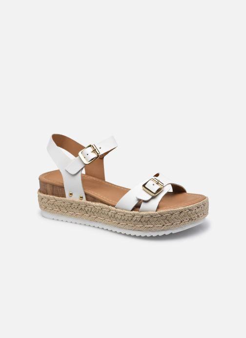Sandales et nu-pieds Steve Madden CASEY Blanc vue détail/paire