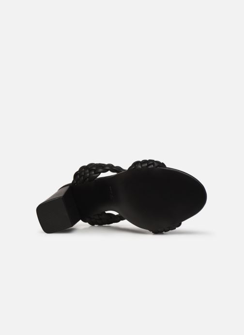 Clogs & Pantoletten Steve Madden TANGLE schwarz ansicht von oben