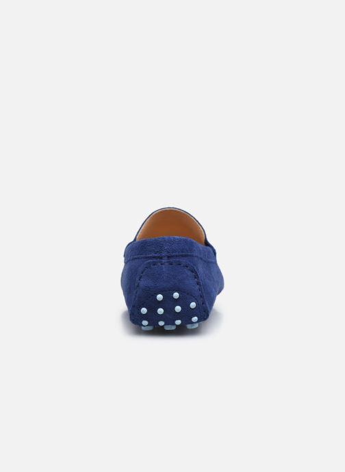 Slipper Marvin&Co SULTEN blau ansicht von rechts