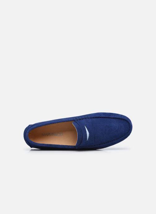 Slipper Marvin&Co SULTEN blau ansicht von links