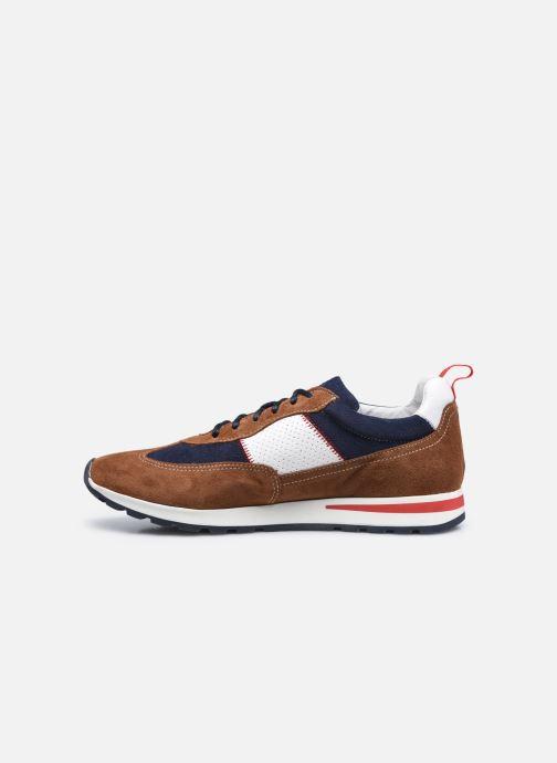 Sneaker Marvin&Co STROND braun ansicht von vorne