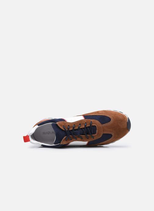 Sneaker Marvin&Co STROND braun ansicht von links